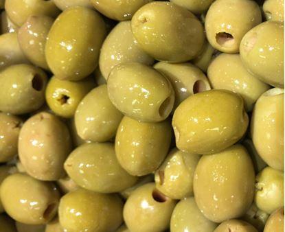 תמונה של זית ירוק מגולען ג'מבו - 100 גרם