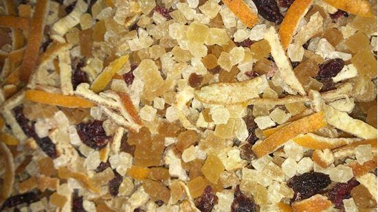תמונה של חליטת פירות ג'ינג'ר לימון ודבש - 100 גרם