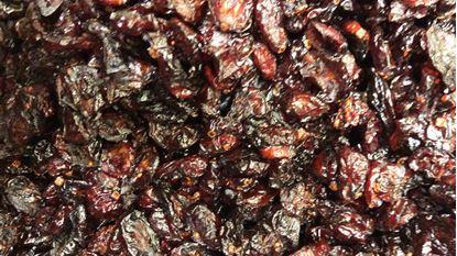 תמונה של חמוציות ברכז תפוחים טבעי - 100 גרם